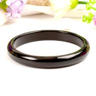 Black Agate Bangle - I