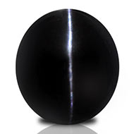 Black Cat's Eye - 6.20 carats