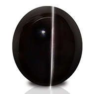 Black Cats Eye - 8.40 carats