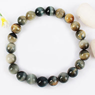 Black Cats Eye Bracelet - 8mm