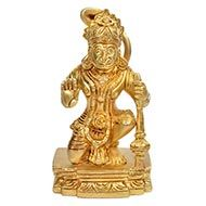 Blessing Hanuman Idol in Brass