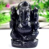 Blue Jade Ganesha - 109 gms - I