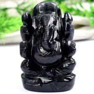 Blue Jade Ganesha - 114 gms