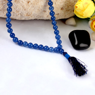 Blue Jade Round mala - 6mm