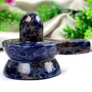 Blue Sodalite Shivling - 190 gms