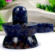 Blue Sodalite Shivling - 194 gms