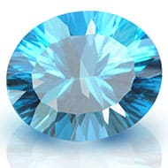 Blue Topaz superfine cutting - 5.50 carats