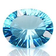 Blue Topaz superfine cutting - 9.70 carats