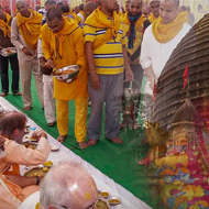 Brahmin Bhoj at Vindhyavasini Devi Temple