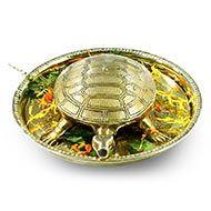 Brass Kurma with brass plate