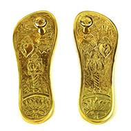 Brass Paduka