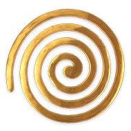 Brass Round Helix