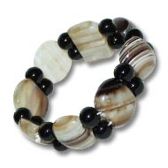 Brown Agate Bracelet - I