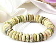Butter Jade Bracelet-Elliptical Beads