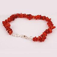 Carnelian Bracelet - Uncut Beads