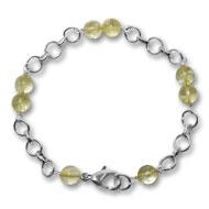 Citrine Round Bracelet - Design III