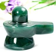 Columbian Green Jade Shivlinga - 100 gms