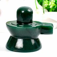 Columbian Green Jade Shivlinga - 139 gms