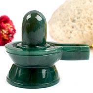 Columbian Green Jade Shivlinga - 171 gms