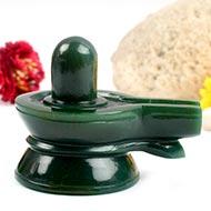 Columbian Green Jade Shivlinga - 205 gms