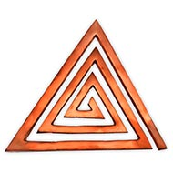 Copper Helix Triangle