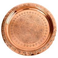 Copper Plate for Pooja