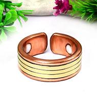 Designer Copper Ring