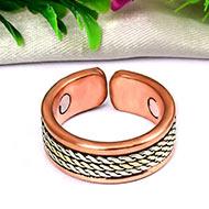 Designer Copper Rings For Healing