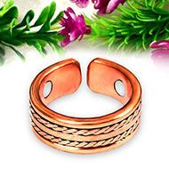 Cross Strip Tamba Ring