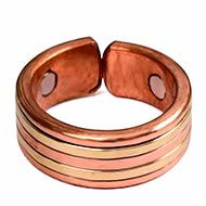 Stylish Copper Magnetic Ring