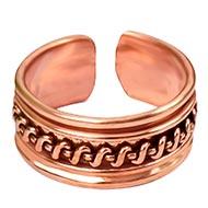 Elegant Copper Ring