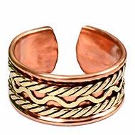 Adjustable Cuff Copper Ring