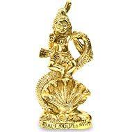 Dancing Krishna on Snake Hoods
