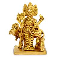 Lord Dattatreya Brass Idol