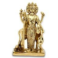 Dattatreya Statue in Brass