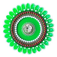 Decorative Puja Thali - II