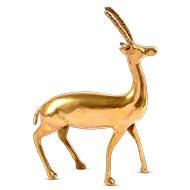 Deer in brass