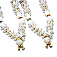 Deity bead Garlands - Set of 2 - Design XVII
