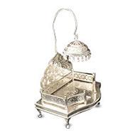 Deity Throne in Pure Silver - I