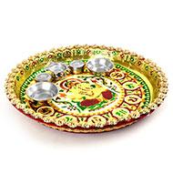 Designer Puja Thali - Ganesha Namah