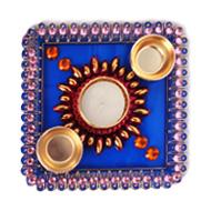 Designer Rangoli Thali - II