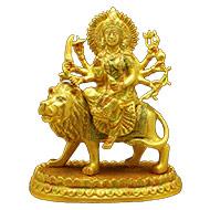 Durga Maa on Lion - CI