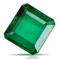 Emerald 3.07 carats Zambian - Superfine Cutting
