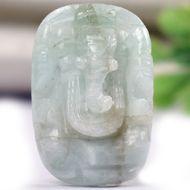 Emerald Ganesha - 16.20 Carats
