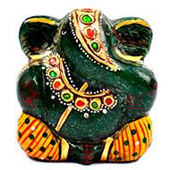 Exotic Green Jade Ganesha - 136 gms