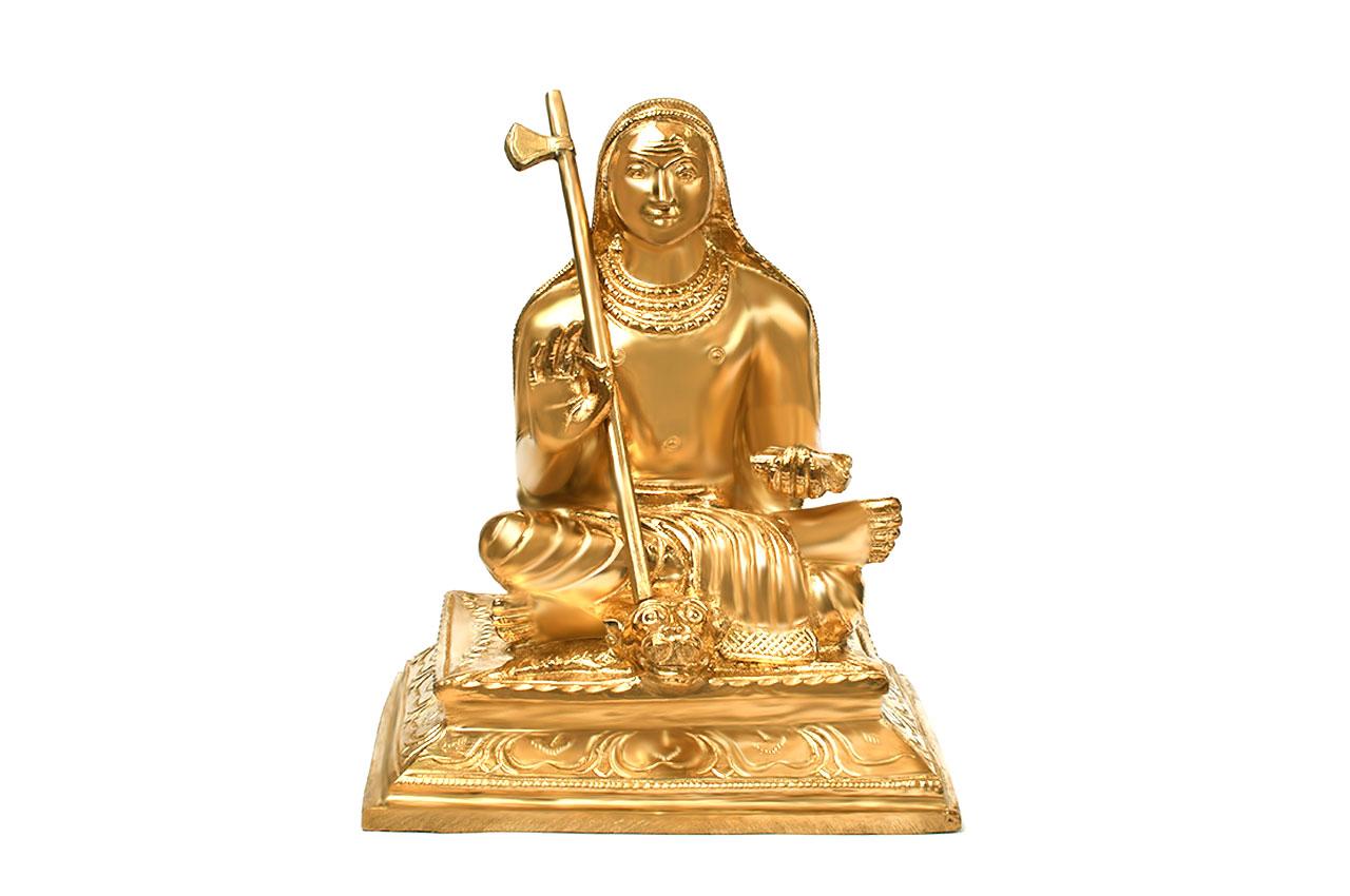 Adi Shankaracharya in Bronze