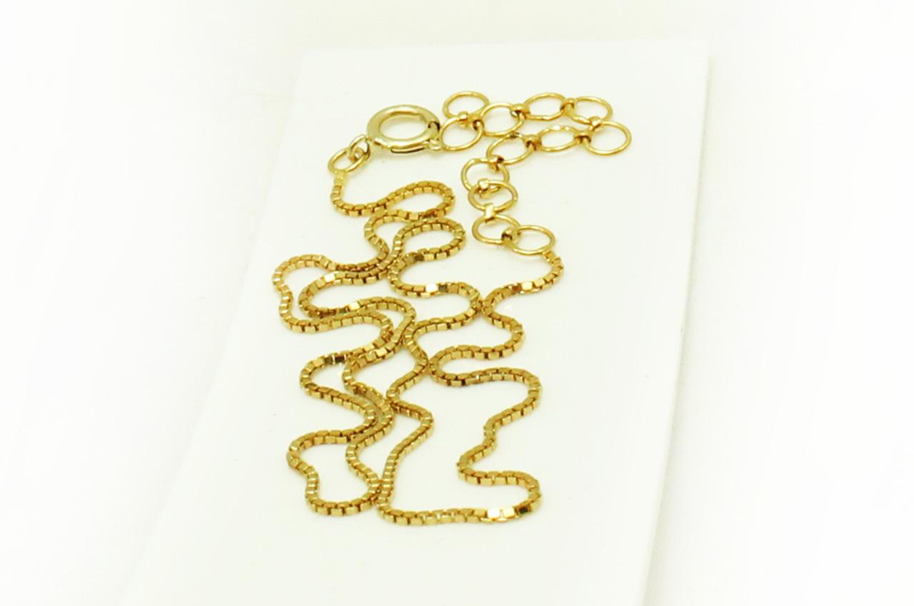 Gold Chain - box design - Rudraksha Ratna