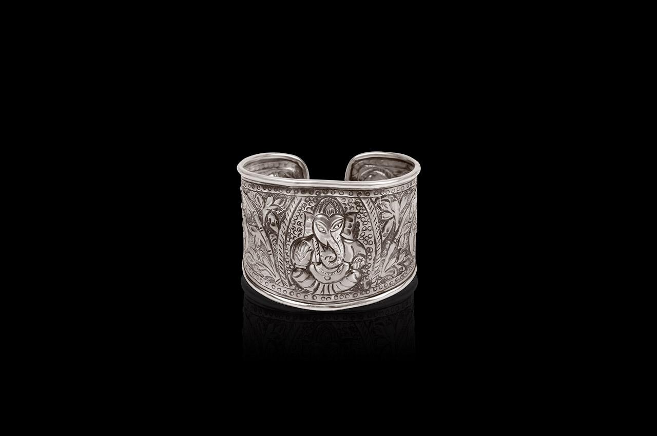 Ganesha Kadaa in pure silver