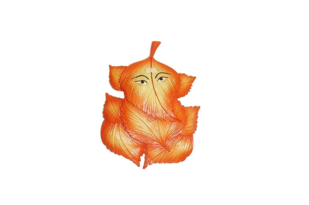 Peepal Leaf Ganesha