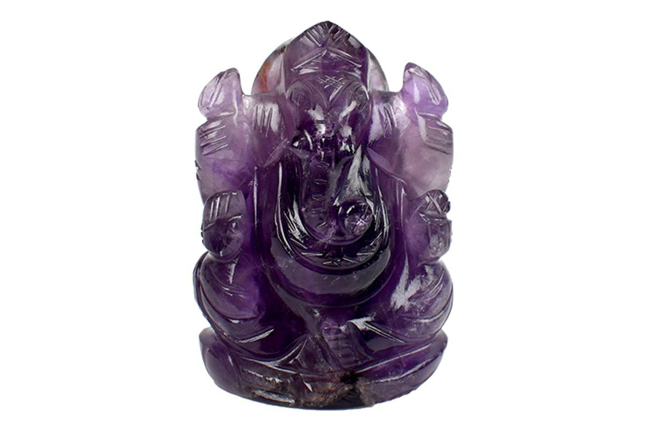 Ganesha in Amethyst - 91 gms